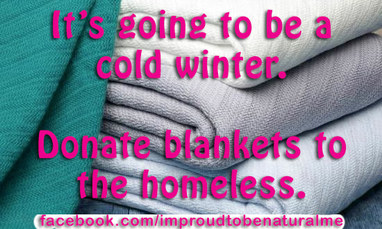 Blanket Drive for the Homeless