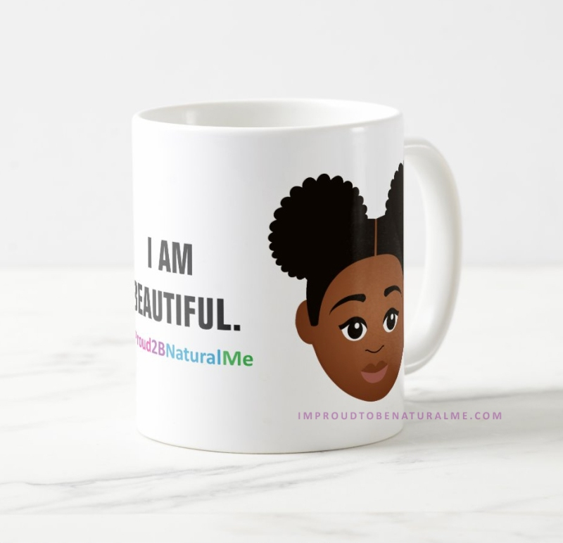 I Am Beautiful Mugs by MDillon Designs