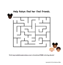 Tap here to download a free maze activity sheet!